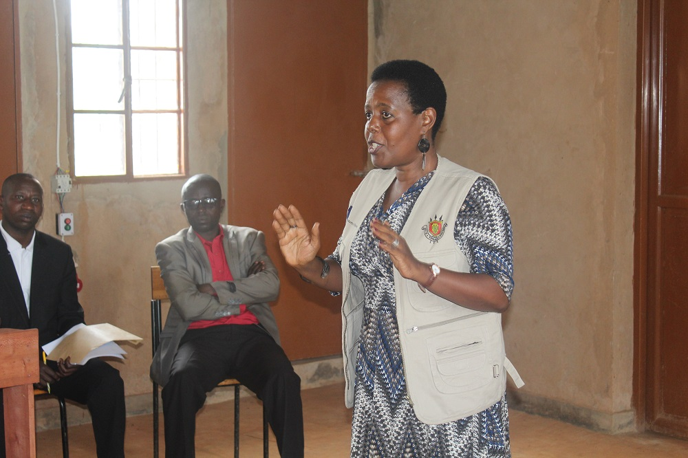 Dr Rose Kamariza, NPO SSRAJ à UNFPA Burundi. Photo UNFPA/Yves Iradukunda